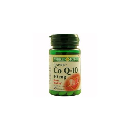 COENZIMA Q10 30MG 50PERLAS NATURE-S