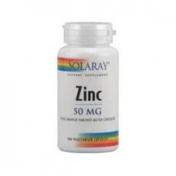 ZINC 50mg. 60 CAPSULAS,SOLARAY