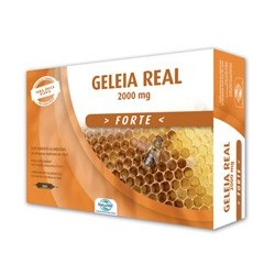JALEA REAL FORTE 2000 MG, DIETMED, 20 ampollas bebibles de 15 ml.