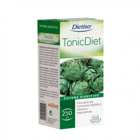 TONIC DIET - DIETISA Jarabe 250 ml.